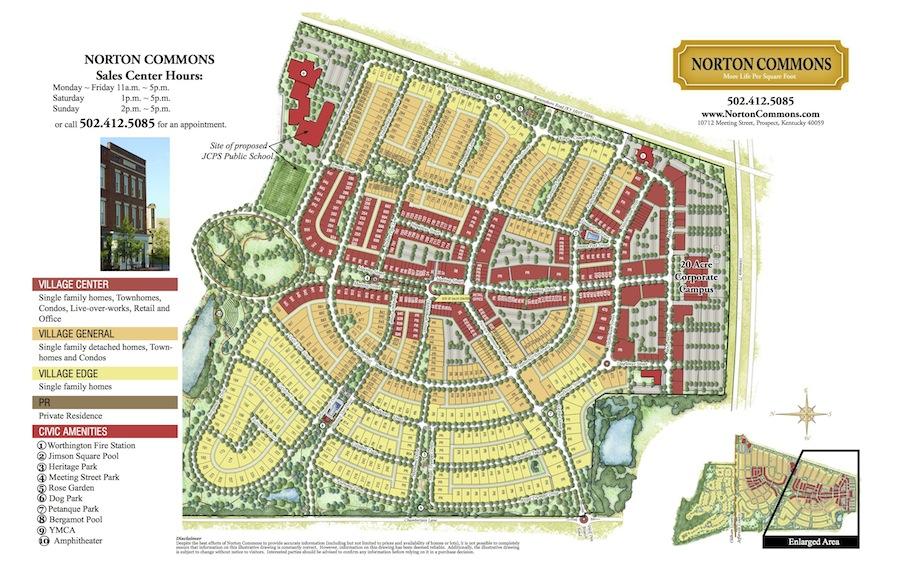 Norton Commons Master Plan